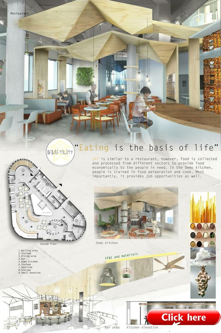 45 Interior Design Sketches Presentation Boards Behance Silahsilah Com Architecture Decor