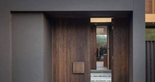 Architecture Beast: House colors: Amazing modern facade in brown | #modern #arch...