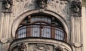 Riga, Latvia: Art nouveau buildings in the old town of Riga, Latvia >> Explores ...