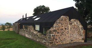 Ein modernes Haus in Schottland nutzt die Ruinen s... - #Die #ein #Haus #moderne...