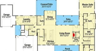 Plan 24627GK: Exclusive Contemporary Hill Country House Plan with Bunk Room