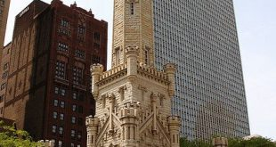 The Chicago Water Tower- William W. Boyington, 1869 - See more at: artsnapper.co...