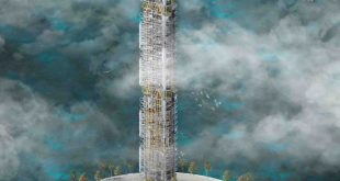 The Plastic converting #tower by Ché Caines